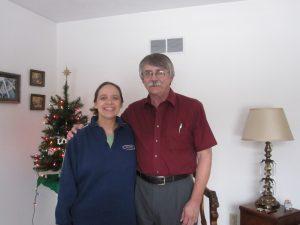 A rare winter trip back - dad's sixtieth birthday